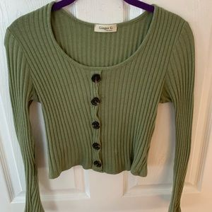 Green long sleeve